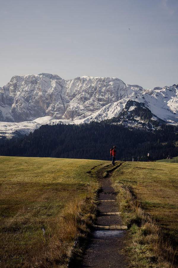 Alpe di Siusi hiking trail
