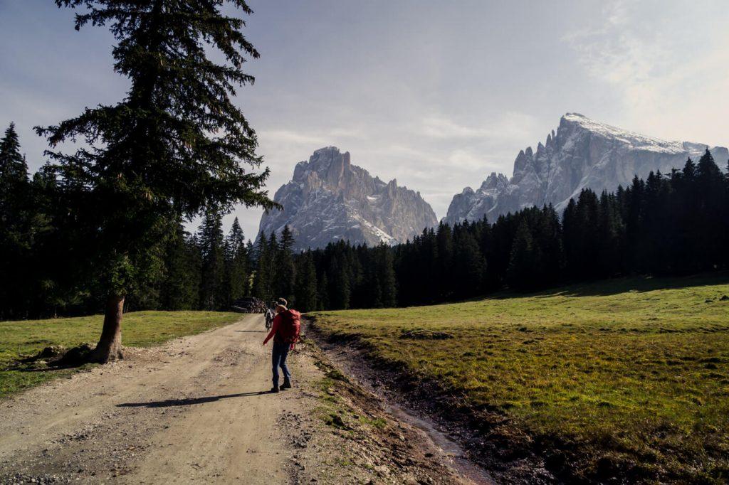 Saltria to Monte Pana Hiking Trail, Dolomites