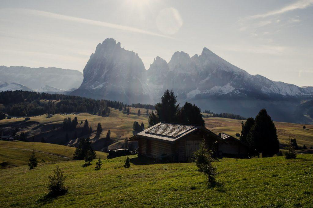 Alpe di Siusi Meadows, Dolomites Road Trip