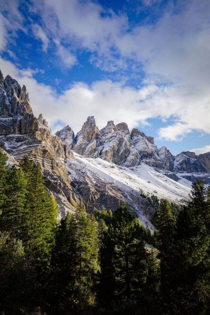 Odle/Geisler Group, Val di Funes Hiking Trails