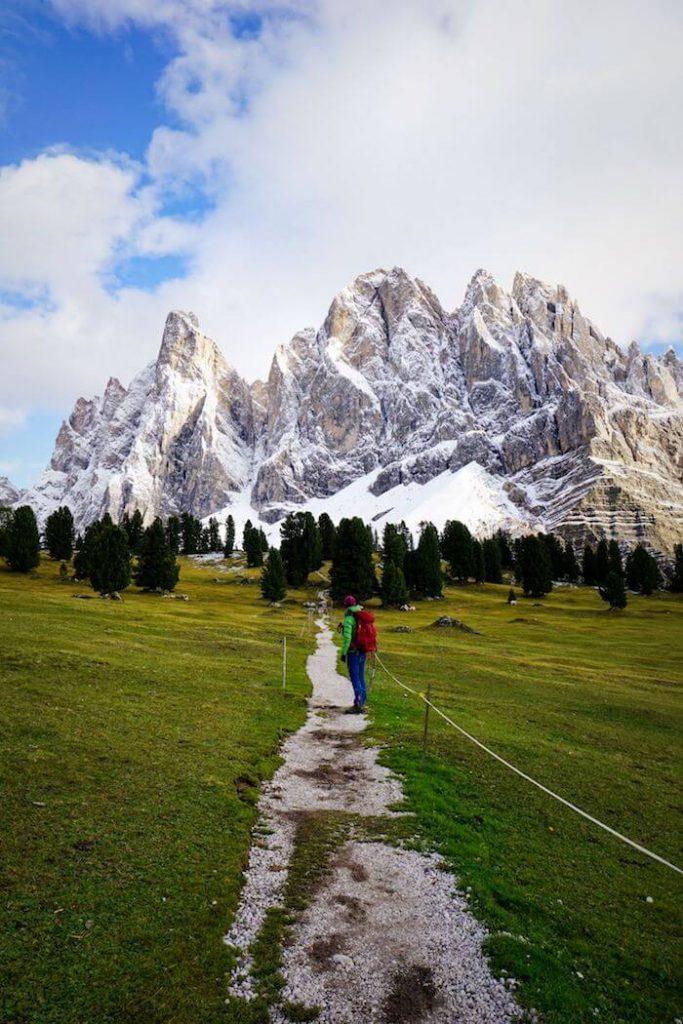 Adolf Munkel Trail, Val di Funes Hiking Trails, South Tyrol