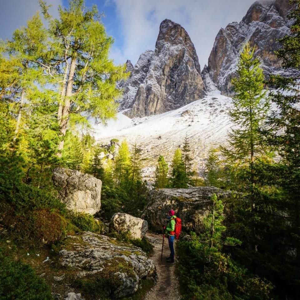 Val di Funes in October, Italian Dolomites