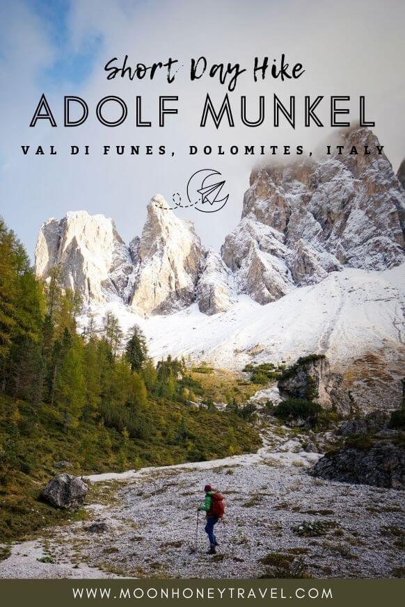 How to hike the Adolf Munkel Trail in the Dolomites, Italy