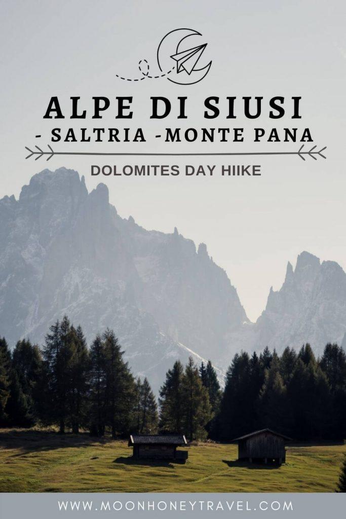 Alpe di Siusi - Saltria Day Hike, Dolomites, Italy