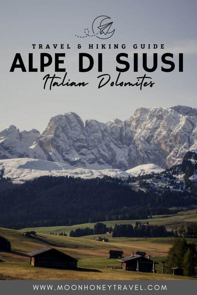 Alpe di Siusi (Seiser Alm) Travel and Hiking Guide