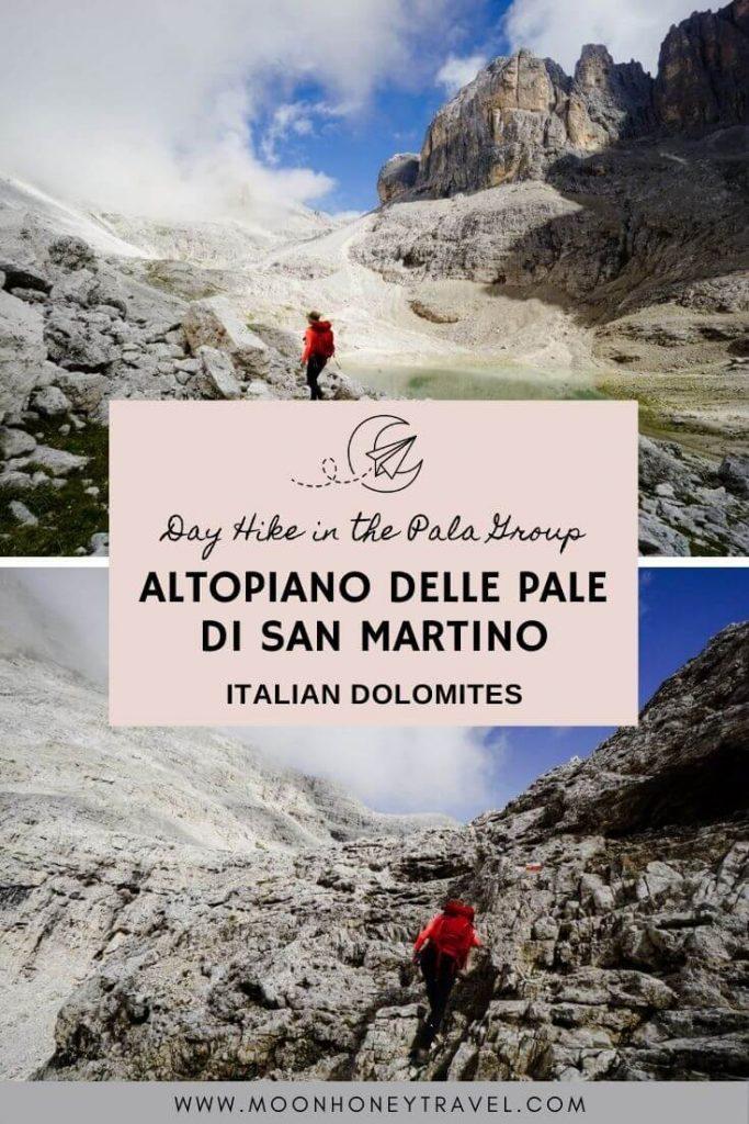 Altopiano delle Pale di San Martino Day Hike, Italian Dolomites
