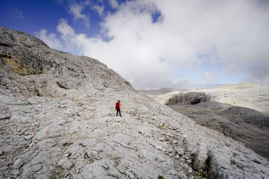 Hiking across the Altopiano delle Pale di San Martino