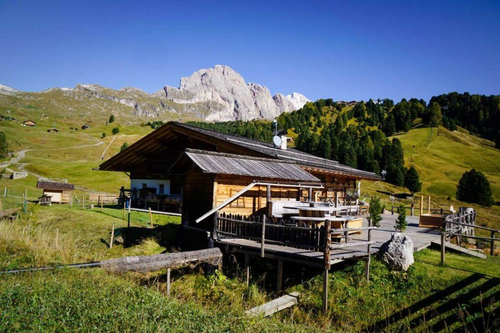 Baita Gamsblut, Hike to Monte Pic, Val Gardena Dolomites
