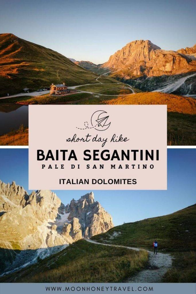 Baita Segantini and Monte Castellaz Hike, Pale di San Martino, Dolomites
