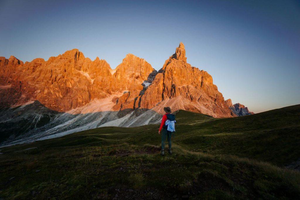 Pale di San Martino, Hiking in the Alps
