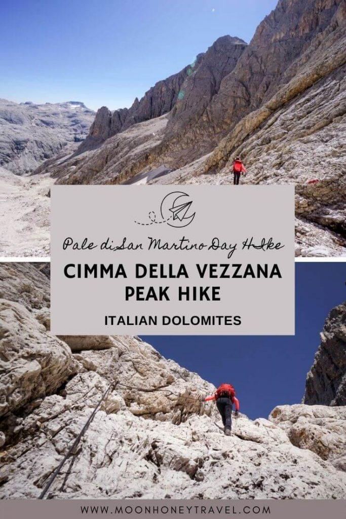 Cimma della Vezzana Peak Hike, Pale di San Martino