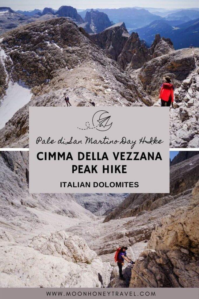 Cimma della Vezzana Summit Hike, Pale di San Martino
