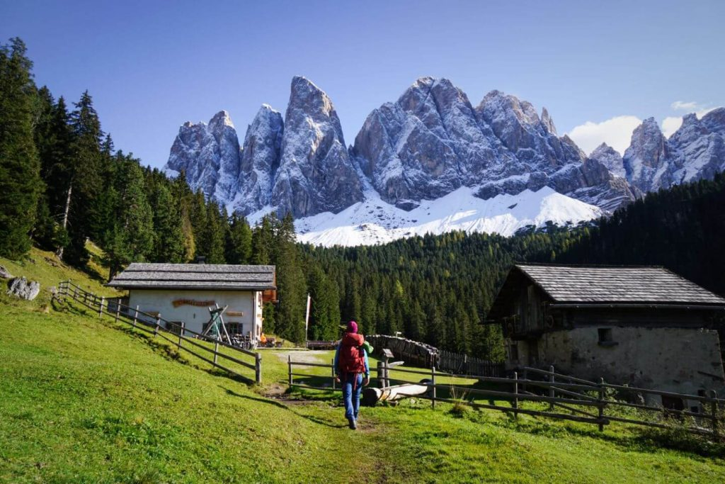 Dusler Alm, Val di Funes, South Tyrol