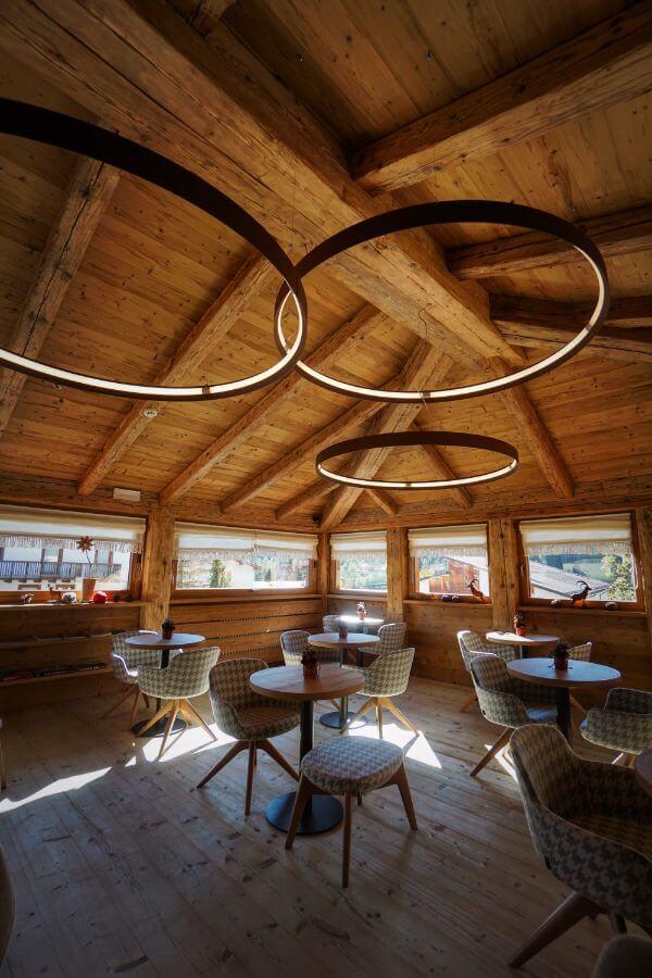 Fiori Dolomites Experience Hotel Lounge, San Vito di Cadore, Dolomites