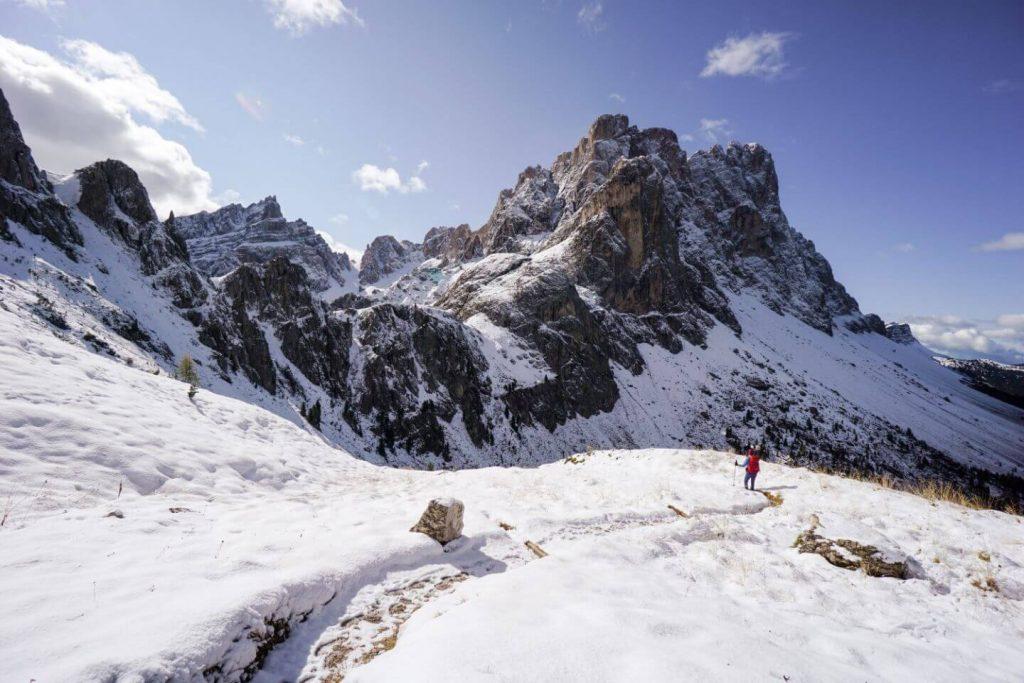 Hike to Furcella de Furcia / Kreuzjoch, Val di Funes