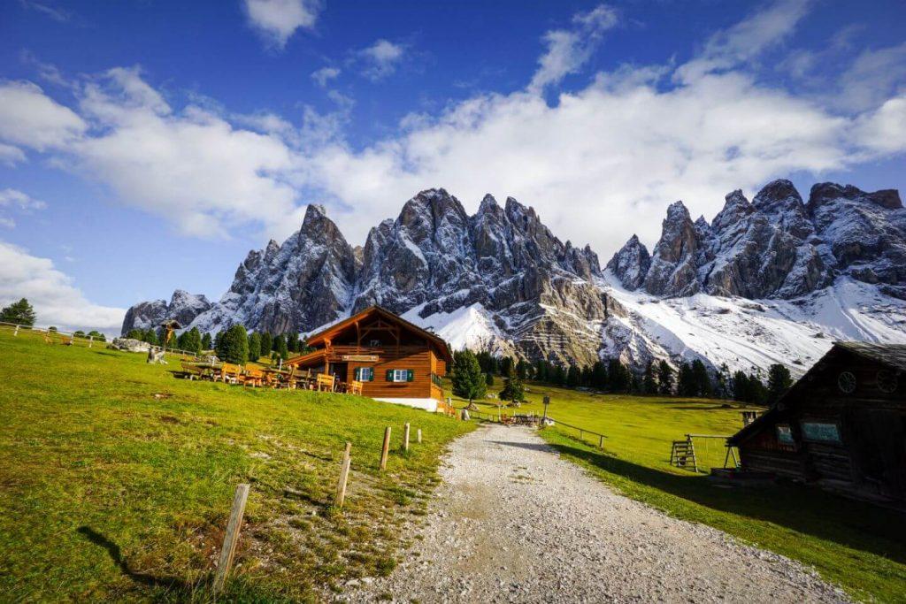 Malga Casanago/Gschnagenhardt Alm, Adolf Munkel Trail, Dolomites