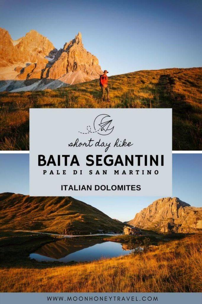 Passo Rolle to Baita Segantini, Pale di San Martino, Trentino