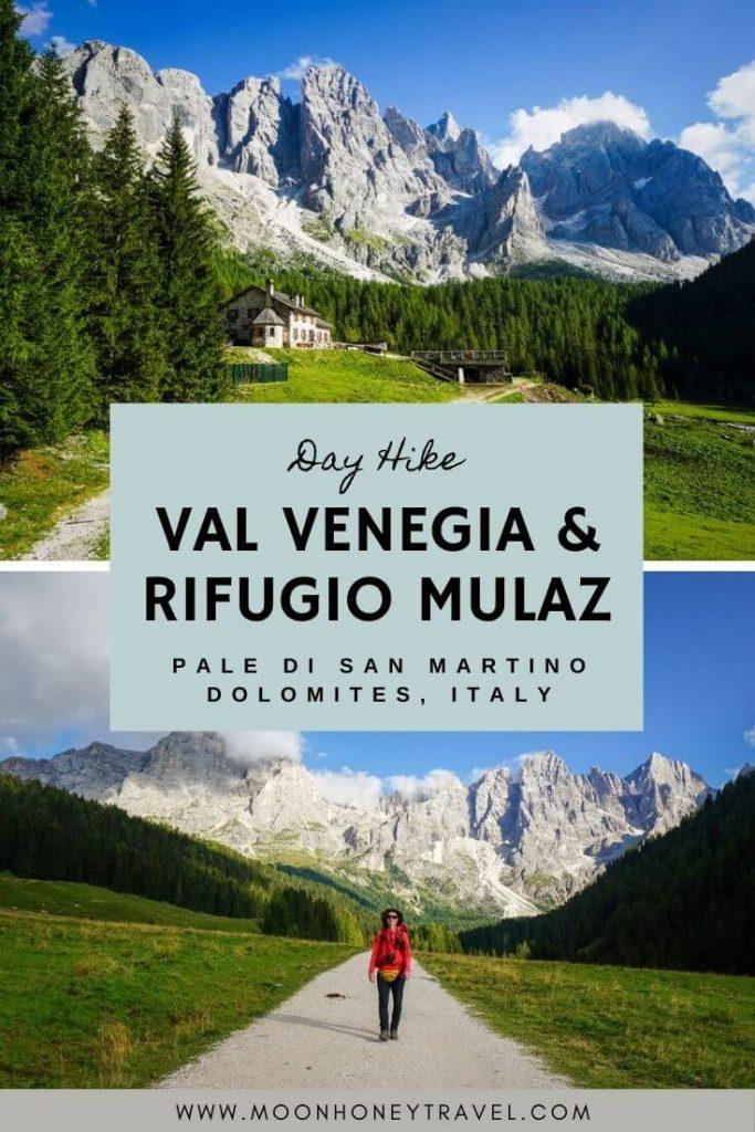 Val Venegia and Rifugio Mulaz Day Hike, Pale di San Martino, Dolomites, Italy