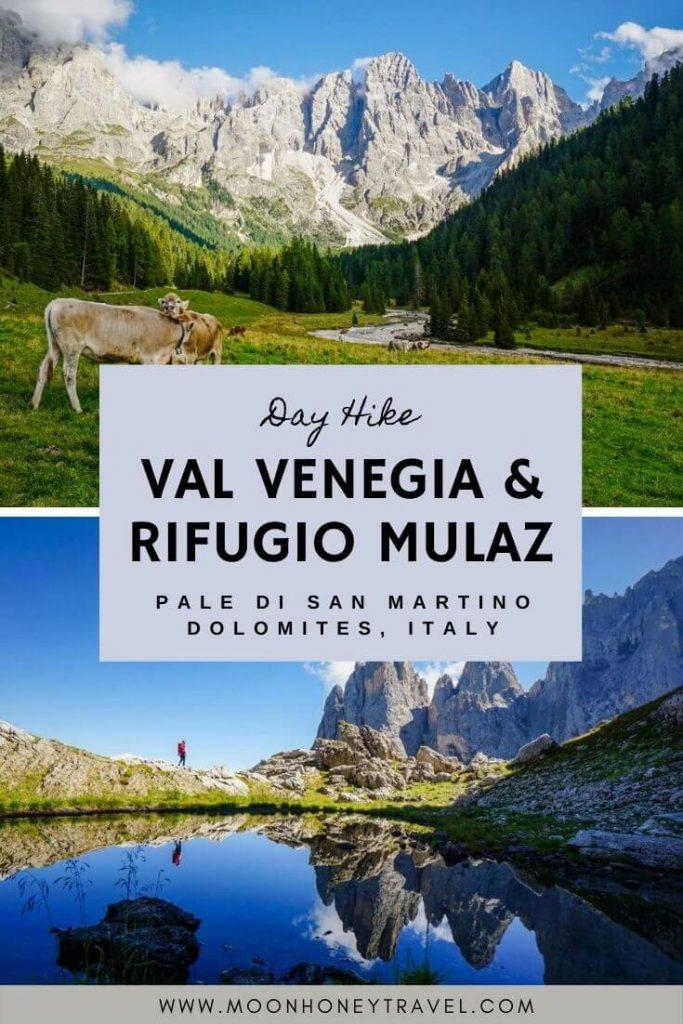 Val Venegia and Rifugio Mulaz Day Hike, Pale di San Martino, Trentino