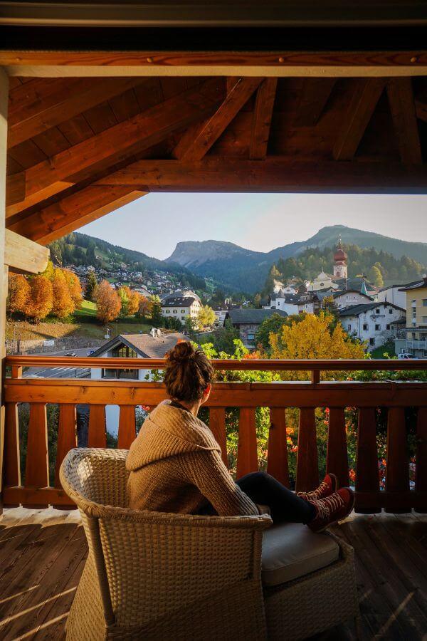 Hotel Angelo Engel, Bedroom Balcony, Seceda and Ortisei