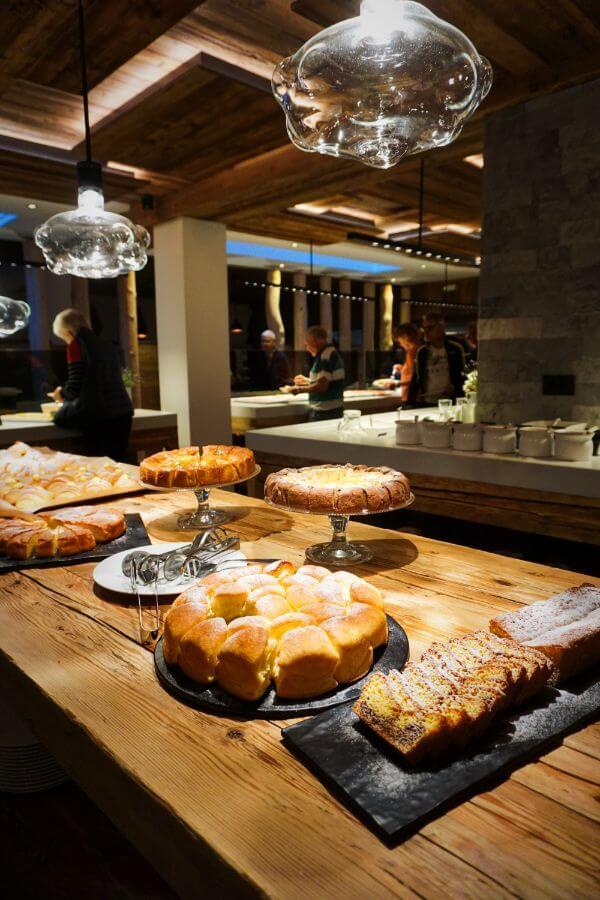 Hotel Col Alto Breakfast Buffet, Corvara, Val Badia