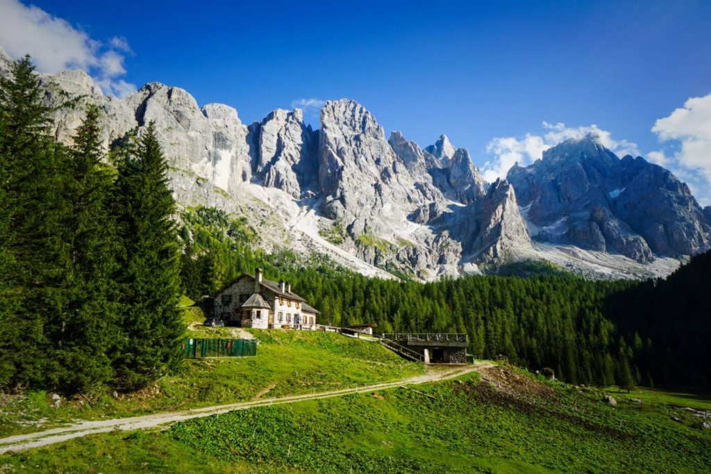 Malga Venegiota, Val Venegia, Pale di San Martino Dolomites