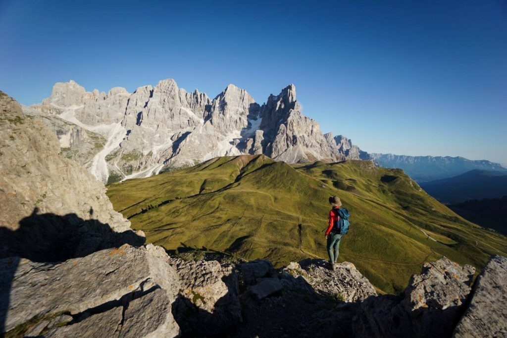 Monte Castellaz Summit, Pale di San Martino, Trentino, Dolomites
