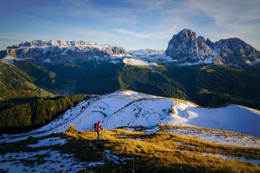 Monte Pic Summit Hike, Santa Cristina, Val Gardena