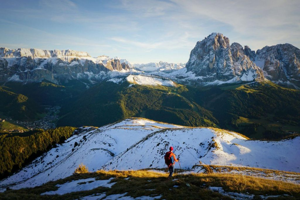 Monte Pic Summit, Val Gardena Hikes, Dolomites