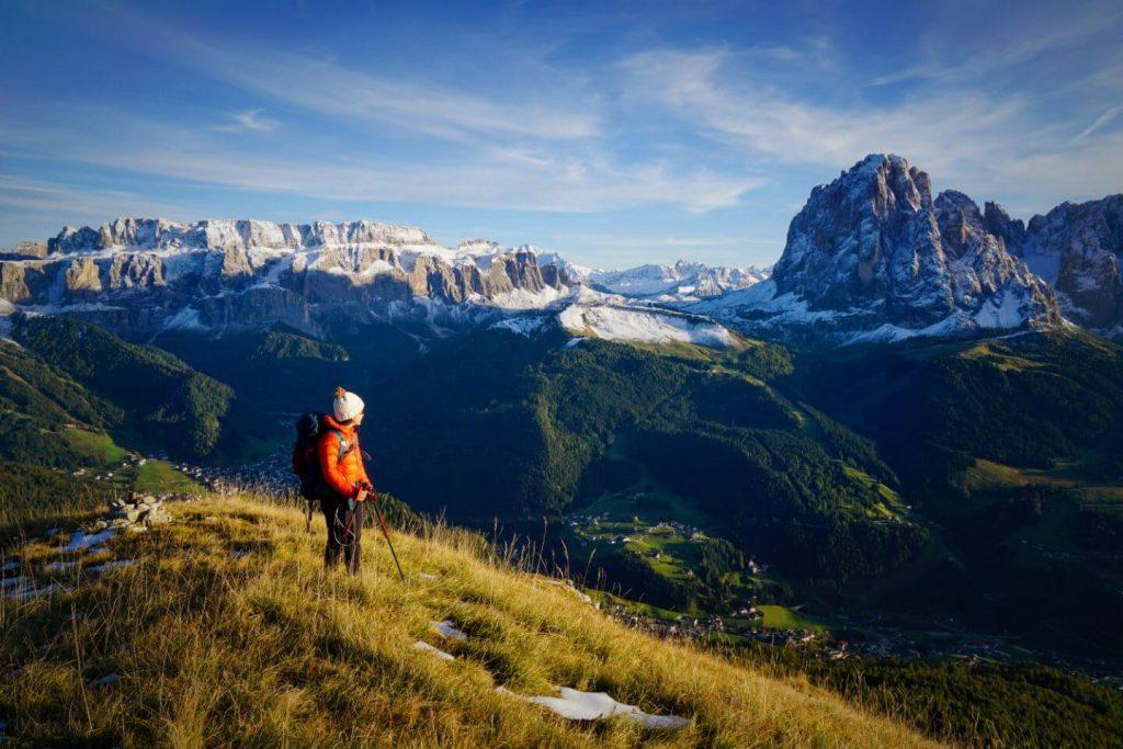 Monte Pic in October, Dolomites