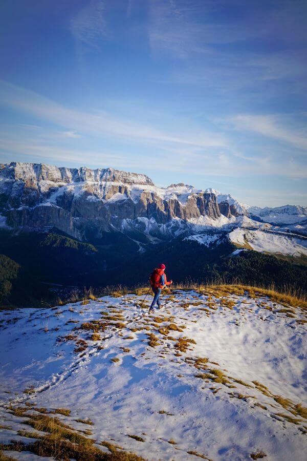 Monte Pic Hike, Val Gardena, Italian Dolomites