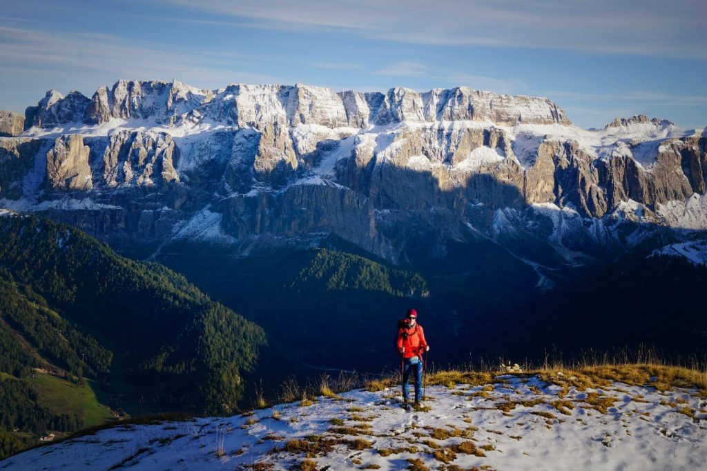 Monte Pic Hike, View of Sella