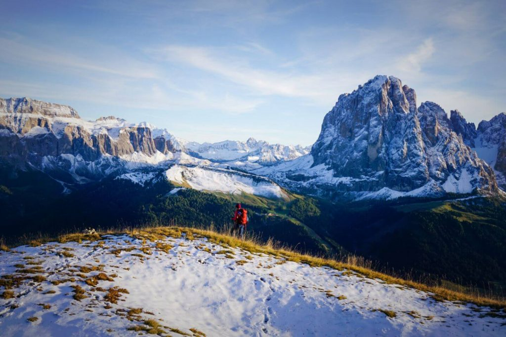 Monte Pic Summit, Day Hike in the Val Gardena Dolomites