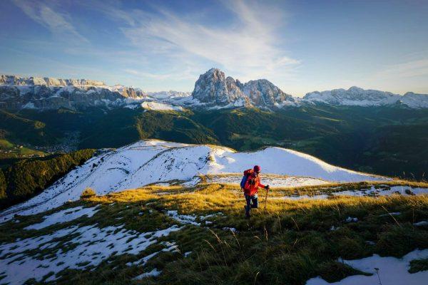Monte Pic Hike, Val Gardena, Dolomites, Italy