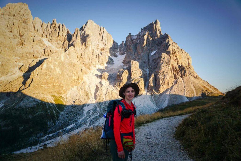 Hike to Baita Segantini, Pale di San Martino