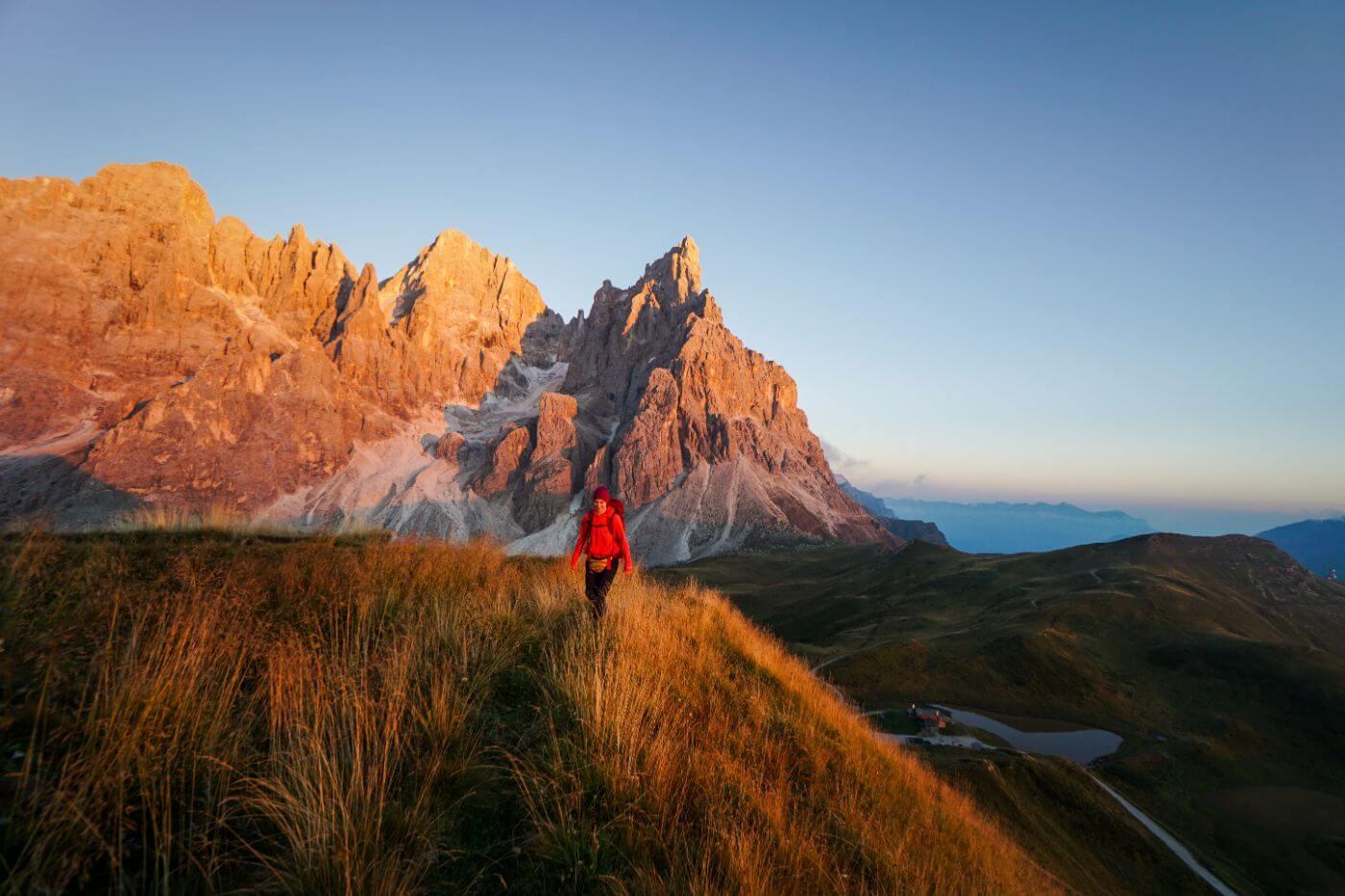 San Martino di Castrozza, Passo Rolle in September, Italian Dolomites