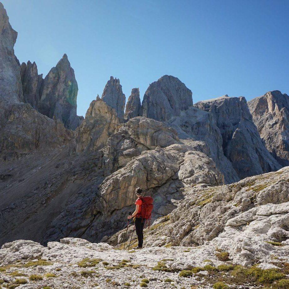 Near Passo Mulaz, Pale di San Martino, Italian Dolomites