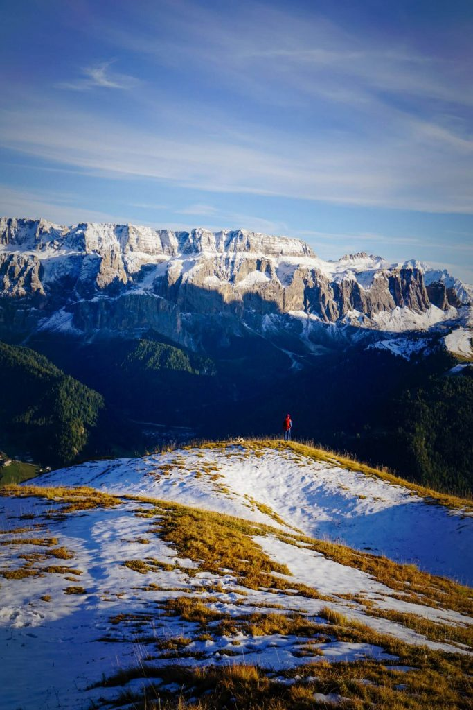 Monte Pic, Hiking the Dolomites in October