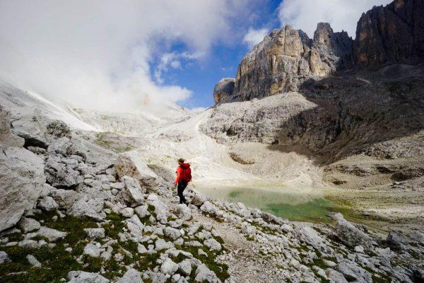 Rifugio Rosetta to Rifugio Pradidali Loop Trail, Pale di San Martino, Italian Dolomites