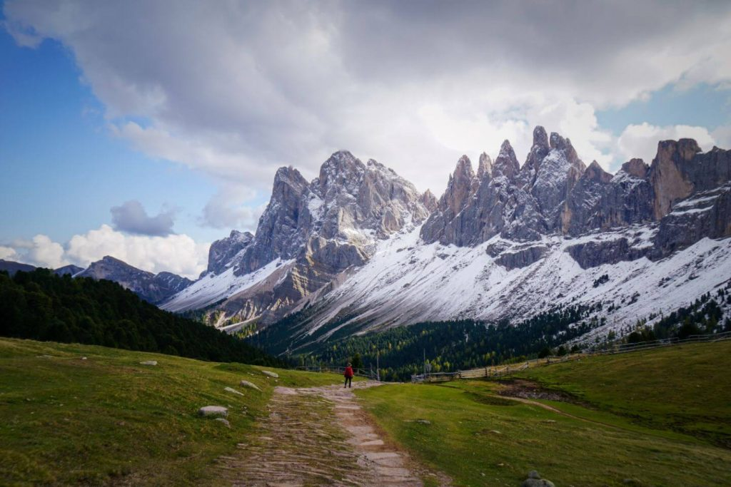 Walking to Val di Funes from Resciesa Plateau, Val di Funes Travel Guide
