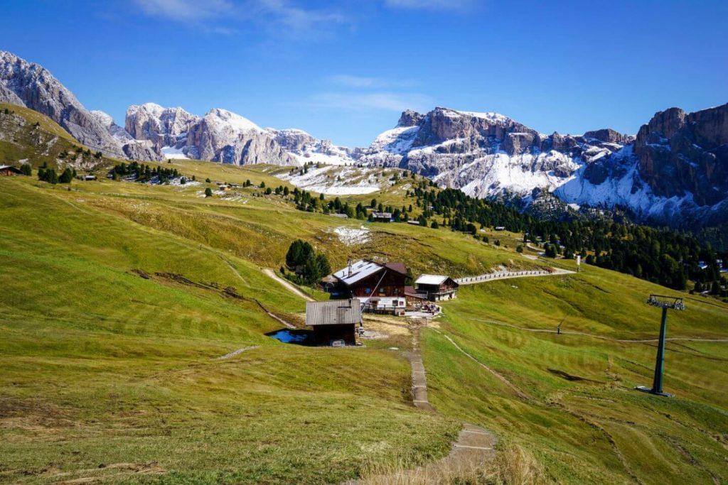 Fermeda Hütte, Val Gardena, Dolomites
