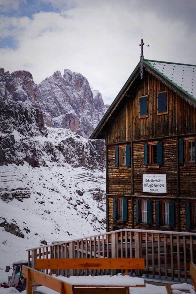 Rifugio Genova, Val di Funes, Dolomites