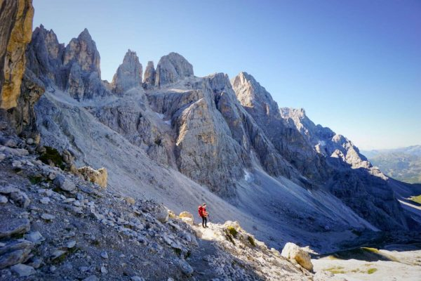 Val Venegia and Rifugio Mulaz Day Hike, Pale di San Martino, Dolomites