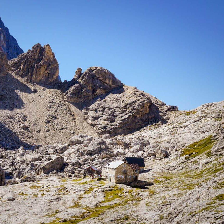 Rifugio Mulaz, Italian Dolomites