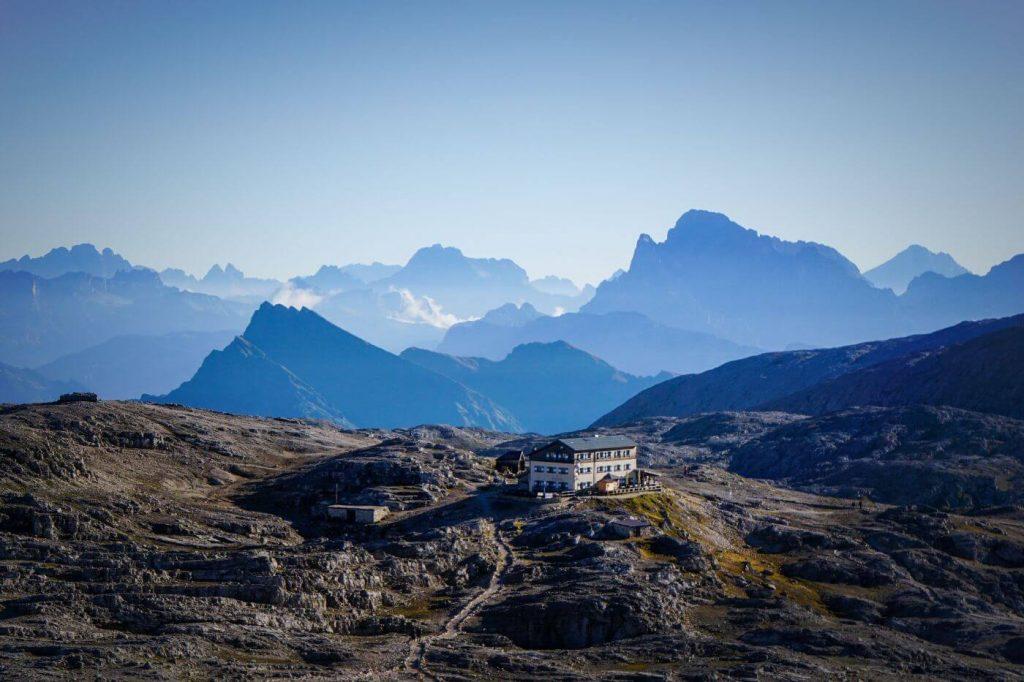 Rifugio Rosetta, Altopiano delle Pale di San Martino Plateau, Dolomites