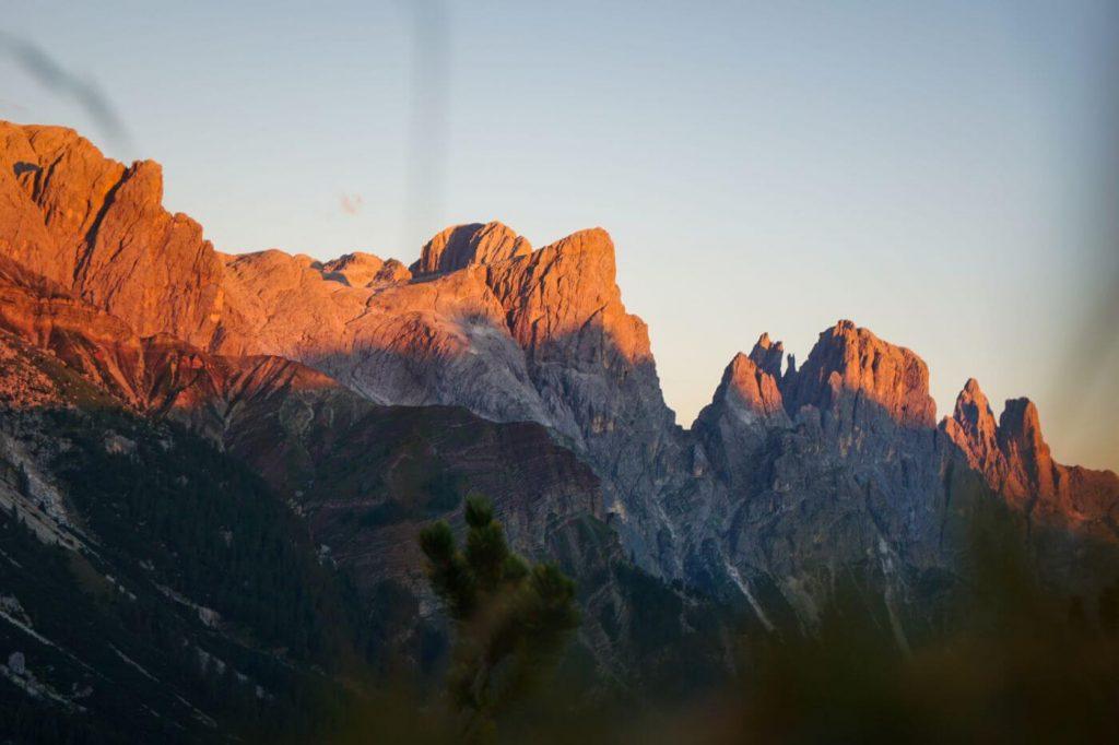 San Martino di Castrozza Sunset, Trentino, Italy