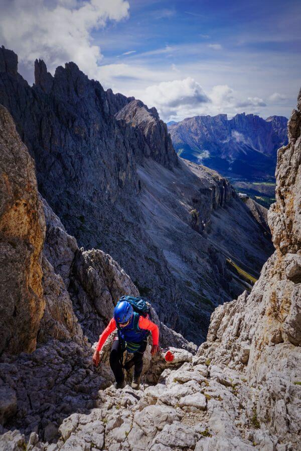Santner Via Ferrata, Rosengarten Dolomites