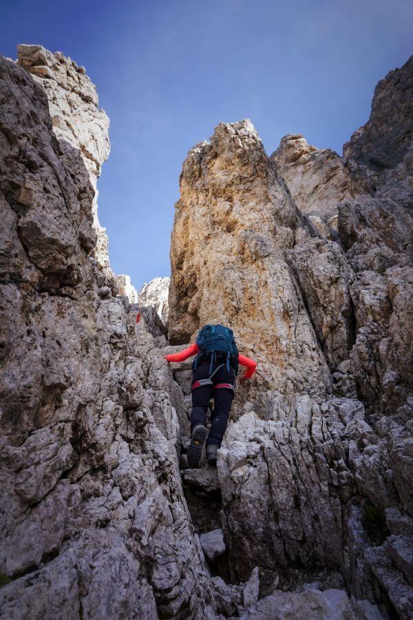 Santner Via Ferrata, Catinaccio Dolomites
