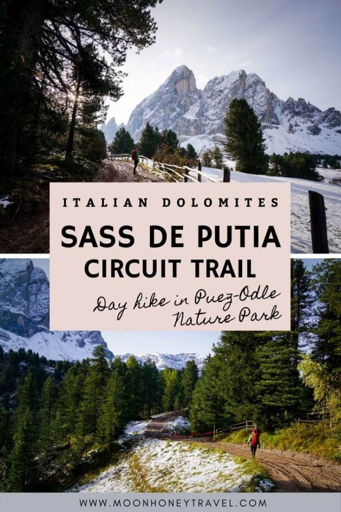 Sass de Putia Circuit Trail, Day Hike in Puez-Odle Nature Park