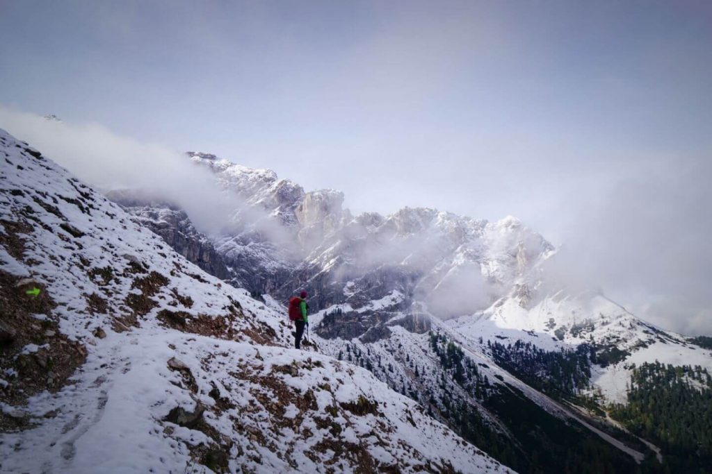 Sass de Putia Circuit Trail, Italian Dolomites